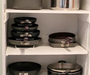 kitchen, organizing, and storage image