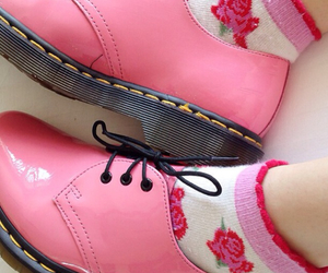 pink, shoes, and grunge image