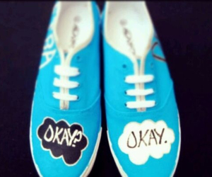 the fault in our stars, okay, and shoes image