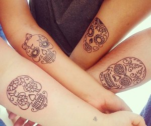 tattoo, friends, and mexico image