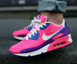 nike, pink, and air max image