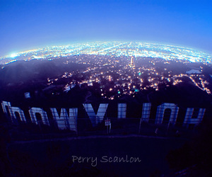hollywood, light, and city image