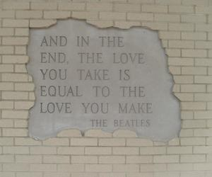 quote, the beatles, and love image