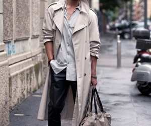 boy and trench coat image
