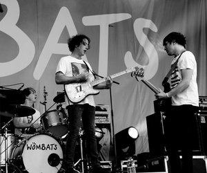 *-*, concert, and the wombats image
