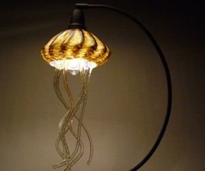 art, jellyfish lamps, and crafts image