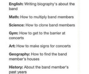 bands, funny, and subjects image