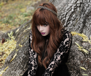 girl, lace, and louise ebel image