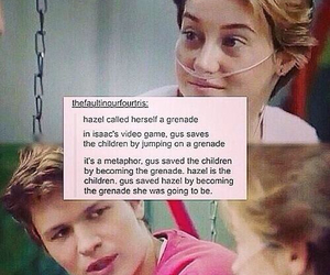 tfios, amazing fact, and so fucking perfect! image