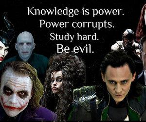 evil, harry potter, and joker image