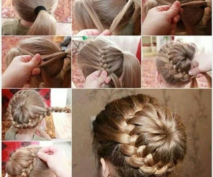 amazing, girl, and step-by-step image