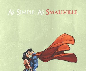 superman, wonder woman, and smallville image