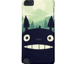 anime, totoro, and case image