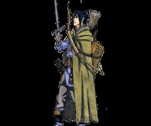elf, sasuke uchiha, and naruto au image