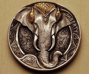 elephant, indie, and pattern image