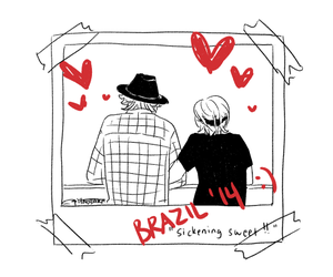 brazil, fanart, and louis tomlinson image
