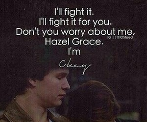 tfios, hazel grace, and the fault in our stars image