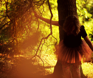 beauty, girl, and nature image