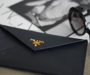Prada, fashion, and black image