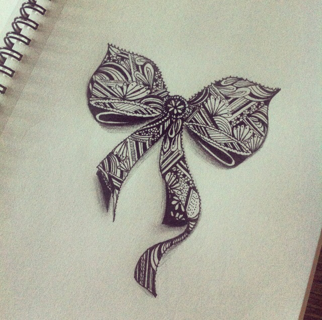 bowtie, dessin, and draw image