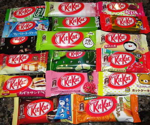 chocolate, kitkat, and food image
