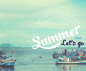 lets go, peace, and summer image