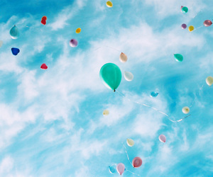 balloon, float, and balloons image