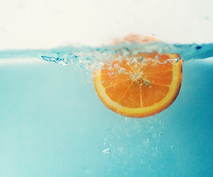 orange, blue, and water image