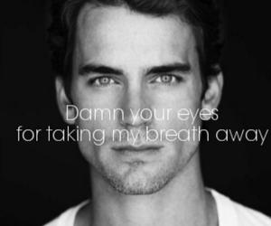 damn, eyes, and him image