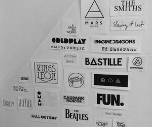 coldplay, thirty seconds to mars, and kings of leon image