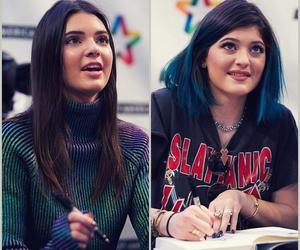 kim kardashian, kardashian sisters, and kendall jenner image