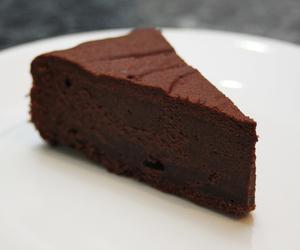 cake, chocolate, and mud cake image