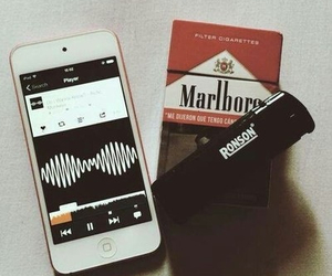 arctic monkeys, cigarette, and grunge image