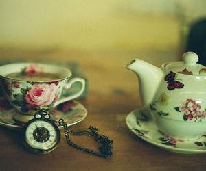 tea, vintage, and cute image