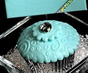 cupcake, tiffany, and blue image