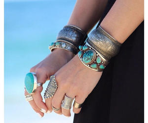 accessories, beautiful, and bohemian image