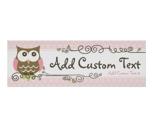 owl, baby shower, and baby shower banner image