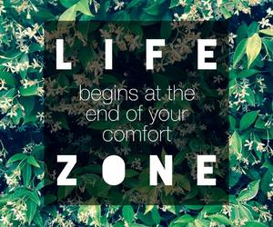 life, confidence, and comfortzone image