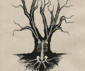 death, life, and tree image