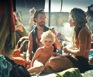 family, boy, and hippie image