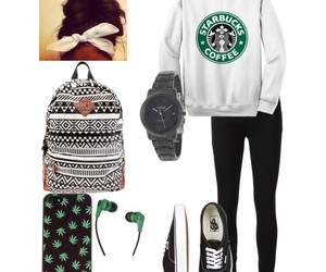 cool, school, and starbucks image