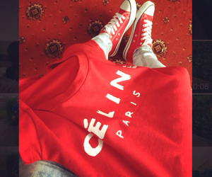 red converse image
