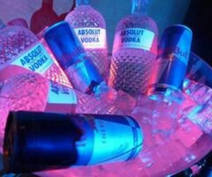 alcool, blue, and pink image