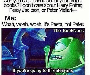 percy jackson, book, and harry potter image
