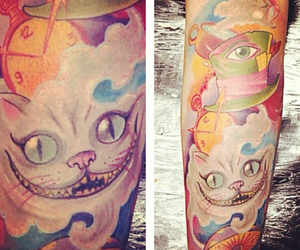 alice, aliceinwonderland, and tattoo image