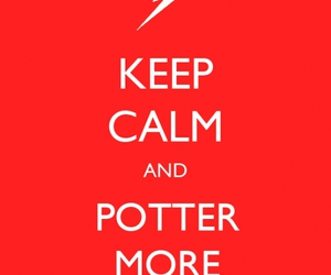 deathly hallows, harry potter, and keep calm image