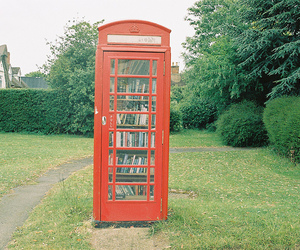 book, vintage, and london image