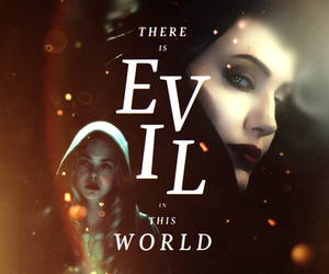 maleficent, evil, and disney image