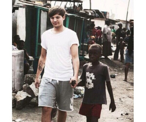 one direction, louis tomlinson, and ghana image