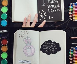 drawing, art, and wreck this journal image